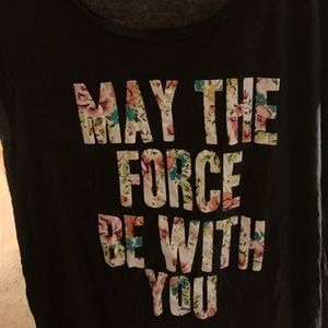 May the Force Be With You- Torrid T Shirt
